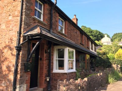 Photo for Charming Exmoor cottage in tranquil setting near mediaeval village of Dunster