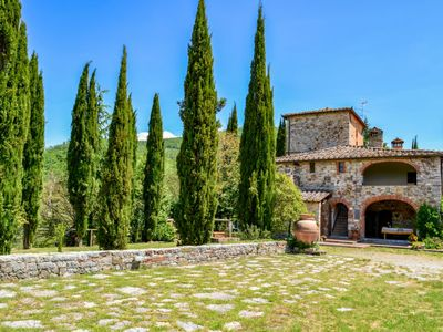 Photo for Vacation home Il Molino in Gaiole in Chianti - 12 persons, 4 bedrooms