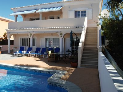 Photo for Beautiful spacious villa with private pool, AC and walking distance to the town