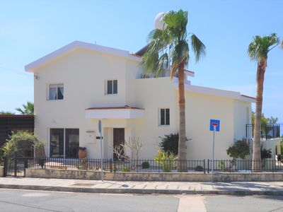 Photo for EASTER SPECIAL ! - Luxury 3 bdrm villa with large pool and stunning sea views