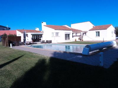 Photo for Mediterranean villa, ground floor, 160 m²