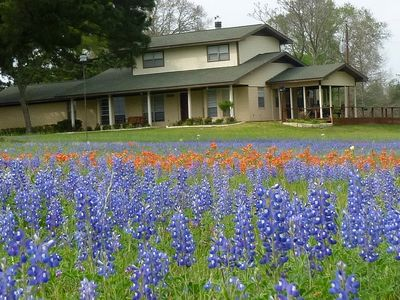 100-acre ranch with beautiful creek, ponds, woods, livestock