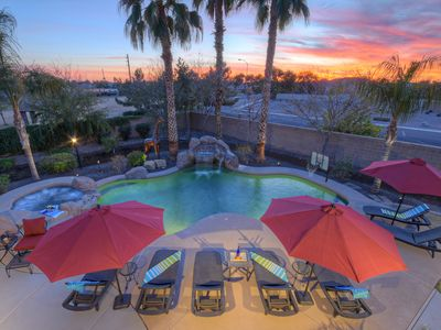 Photo for Idyllic, Luxurious Mesa Home; Amazing Amenities; Option to Heat Pool & Spa