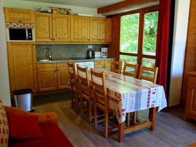 Photo for Appart Valloire 4/6 pers ski slopes, Sunday - Sunday rental