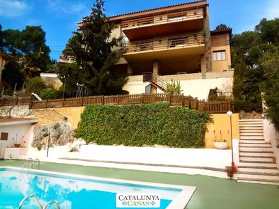 Photo for Catalunya Casas: Heavenly villa in Sant Feliu with a private pool only 25km to Barcelona!