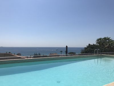Photo for 2 bedroom apartment in a quiet secure area, swimming pool and golf gulf JUAN