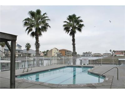 Photo for NEW LISTING!  Step outside to your own canal view at this lovely townhome!