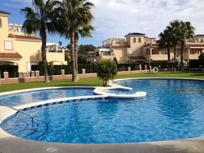 Photo for Immaculate Ground Floor 2 Bed Apartment In Gated Community With Pool