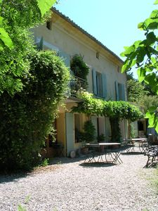 Photo for BEAUTIFUL MAS EN PROVENCE FOR 12 PEOPLE. PARK, POOL, TO PROVIDE QUALITY