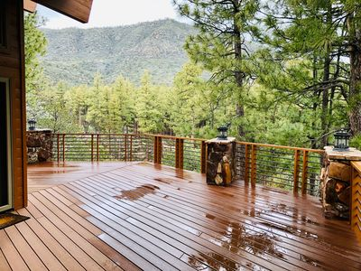 Photo for Eagle Spirit Lodge, Pine, AZ: Luxury Retreat in the Pines, Find Your Cool Bliss
