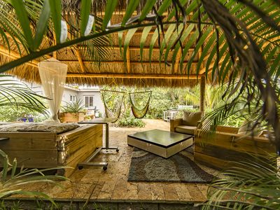 """Photo for Welcome to the  """"Hidden Oasis"""" 3 bedrooms 2.5 Bathroom Tropical Pool Home!!!"""