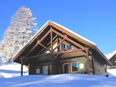 Photo for SUNNY CHALET 6 SLEEPING ON THE SLOPES OF RISOUL RESORT