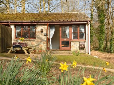 Photo for Woodland Holiday Cottage, Close To St Ives,  Indoor heated Swimming Pool