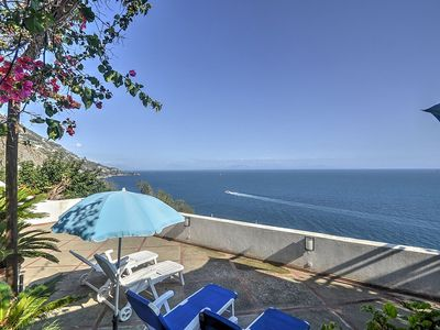 Photo for 2 bedroom Apartment, sleeps 5 in Praiano with Air Con and WiFi