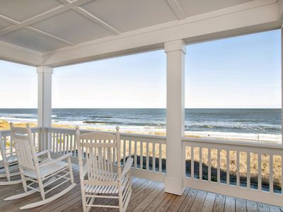 Photo for Treat your family to this premier oceanfront duplex close to the pier