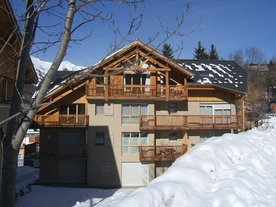 Photo for Bright and comfortable apartment classified 3 *, in small quiet residence.