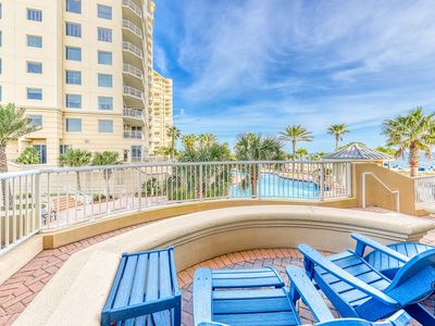 Photo for 6th Floor Beachfront Condo, Views, Quick Walk To Dining