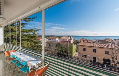 Photo for Holiday apartment 150 m from the Adriatic Sea