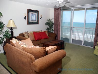 Photo for Crescent Shores Oceanfront Unit 804! Stunning Condo. Book your get away today!