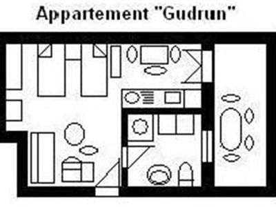 """Photo for """"U1 = Gudrun"""", for 1-3 persons - House U, for 1-15 persons, 25km to FFM-Nord"""