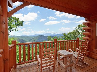 Photo for Incredible Views from your Luxury 1 Bedroom Cabin!