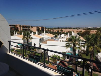 Photo for lovely one bedroom apartment, Salgados area close by to the beach.