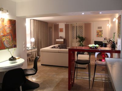 Photo for Luxury studio fully equipped with a private garden quietly situated