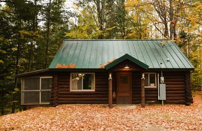 Photo for Peaceful & Rustic Log Cabin