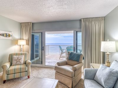 Photo for 4th Floor Quiet, Gulf Front Condo w/ Views, Close To Entertainment