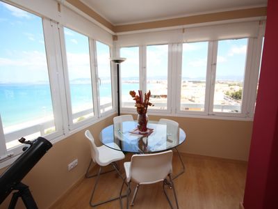 Photo for Can Pastilla -La Ribera - Apartment mit Meerblick  - One Bedroom Apartment, Sleeps 4