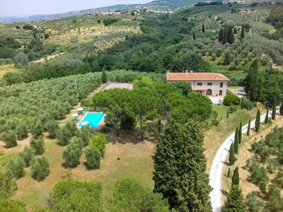 Photo for Beautiful private villa for 14 guests with private pool, WIFI, TV, pets allowed and parking