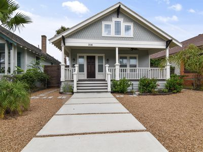 Photo for Seaclusion - only one block to the beach - 2 bedrooms/1 bath sleeps 6!
