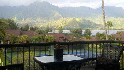 Enjoy morning Coffee with AMAZING PANORAMIC Views on your unit private Lanai