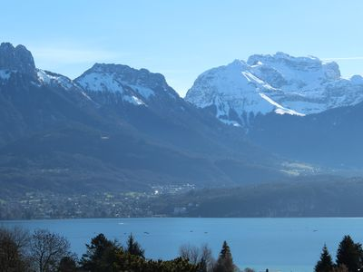 Photo for For rent in August, beautiful renovated house of 150 m2 on Lake Annecy.