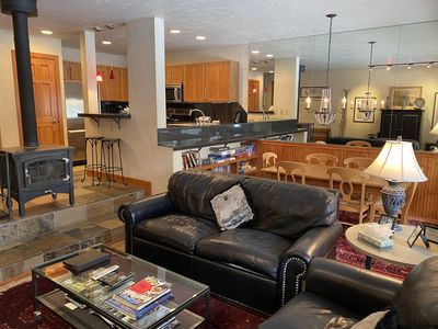 Remodeled Creekside 1 Bedroom East Vail Condo #1B. Hot Tub and Market.