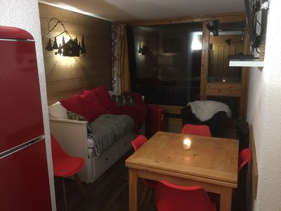 Photo for Les Arcs 1800 - BEAUTIFUL CHALLES -Apartment on skis 5P