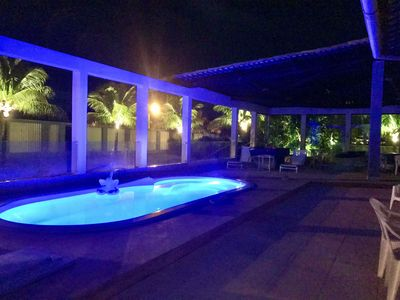 Photo for Casa Praia do Saco, Pool, Barbecue, 7 Air-conditioned Rooms, Near the Beach