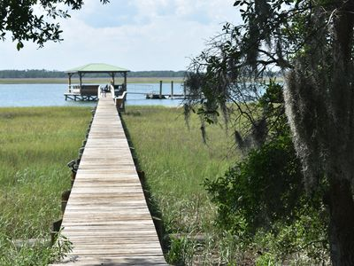 Folly Beach Secluded Waterfront with 18 Acres