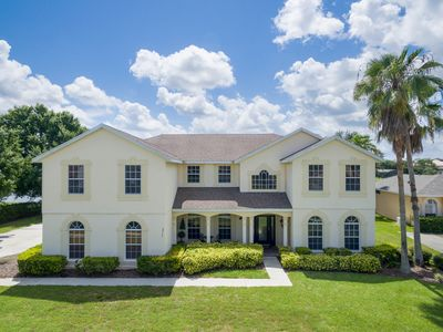 Photo for Formosa Deluxe | Lake Views, Summer Kitchen, and Movie Room all just 3 Miles from Disney