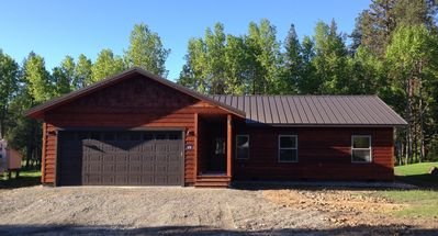 Photo for Perfect for every season, new open concept cabin ready for your next getaway!
