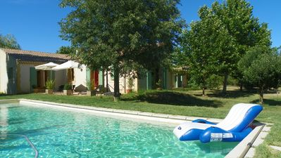 Photo for PROMO -30% Luberon, Lourmarin / Lauris, Large Provencal Mas with pool