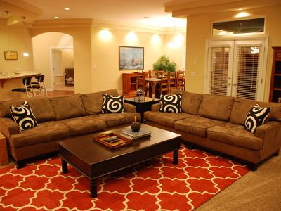 Photo for Best Value Long-Term Rental! Custom Home in Gated Comm. w/ pool & spa. Sleeps 6.
