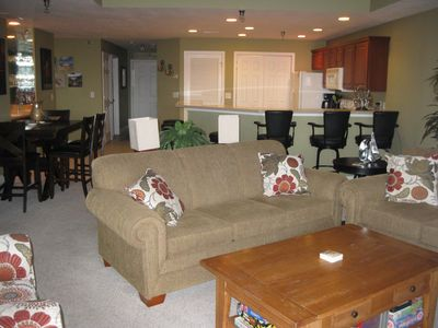 Photo for FREE NIGHT! Luxury Condo, Screened Deck, Indoor and Outdoor Pool, Hot Tub