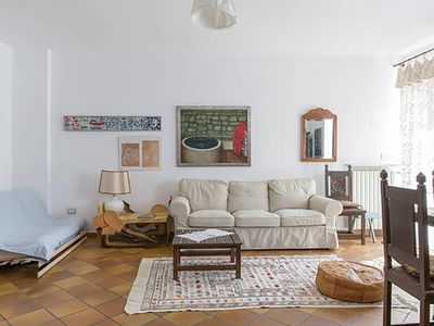 Photo for Large and cozy flat with garden