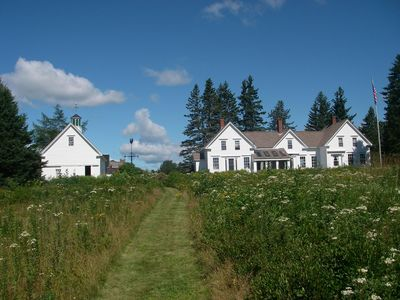 Photo for Relax Back In Time in a Secluded, Civil War-Era Farmhouse, Pets Welcome.