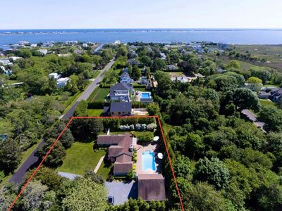 Photo for Hamptons Getaway With Pool, Bay, and Beach