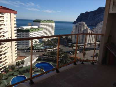 Photo for Apartment With Sea View On 14 Floor In Ambar Beach For Rent In Calpe