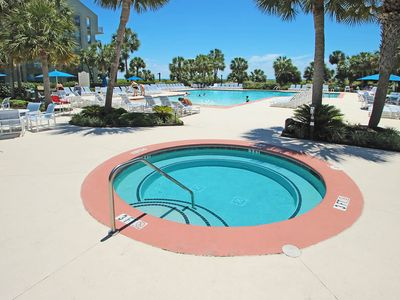 Photo for Oceanfront villa with shared pool and hot tub, close to beach!