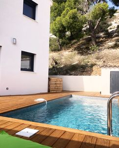 Photo for Superb new villa 2 steps from the creeks