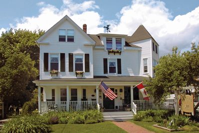 Formerly, the Candleshoppe Inn, this lovely home is now available for rentals!